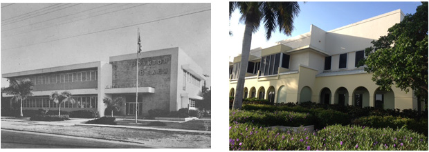 City Hall 1958 and 2014