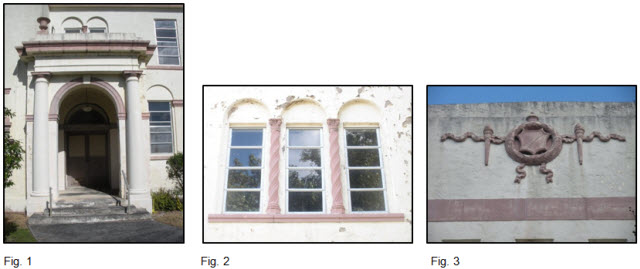 External architectural features