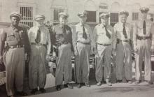 415 NE 4th St., police officers (c1951)